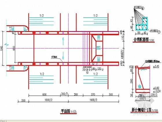 高标准农田建设示范工程设计图(含水闸 平板桥 过水涵洞)