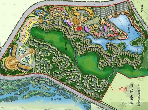 [福建]休闲旅游度假村规划设计方案与建筑概念设计方案