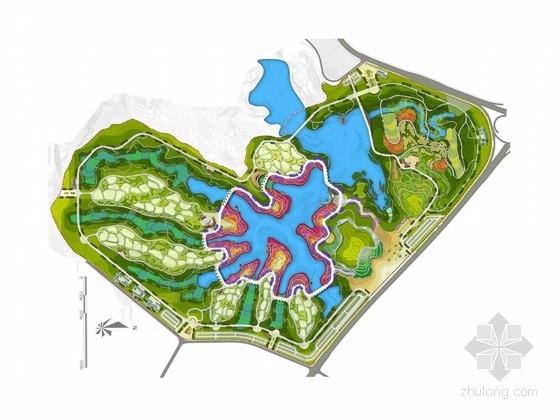 [重庆]山水立体园博会景观规划设计方案