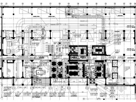 [海口]酒店改造项目空调通风施工图纸