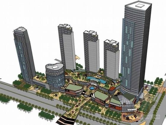 [深圳]现代风格综合型地块规划设计方案文本