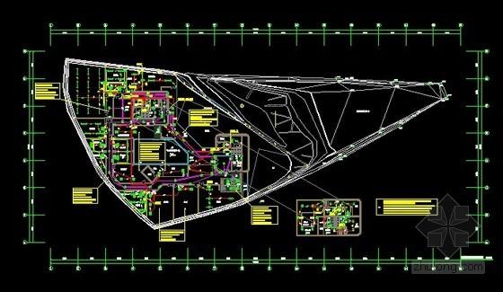 [浙江]多功能博物馆全套强电系统施工图纸(完整配电)
