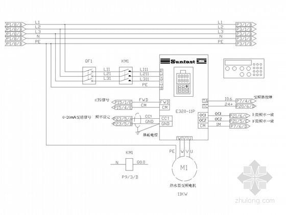 恒压供水电气控制系统图
