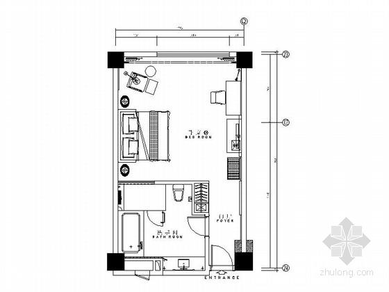 [厦门]五星级豪华假日标准客房装修图