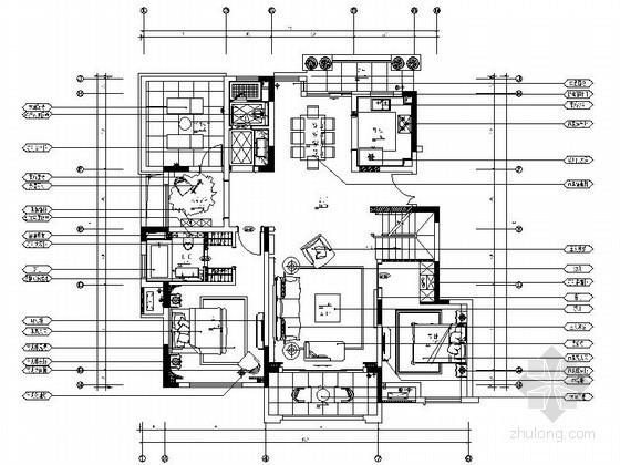 精装阁楼复式室内设计装修图