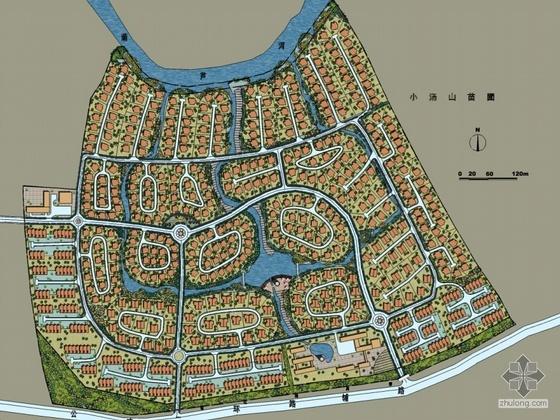 [北京小汤山]某别墅区规划设计方案