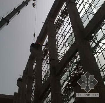 某办公综合楼钢桁架安装专项施工方案