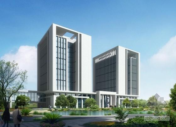 办公楼建筑工程预算书(广联达软件实例)
