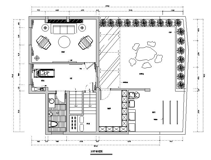 [福建]简约中式别墅设计施工图(附效果图)