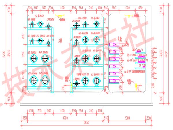 武汉CBD管廊机电安装技术