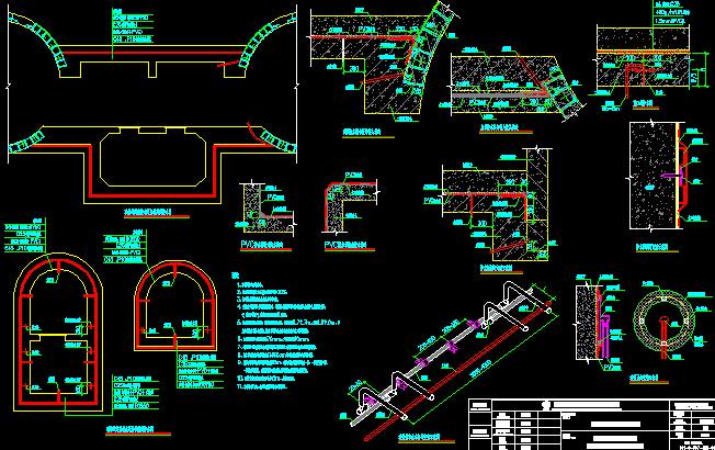 [知名大院]]2016年地铁明挖法矿山法盾构法区间隧道图纸56分册(12个区间,含联络通道泵房)_16