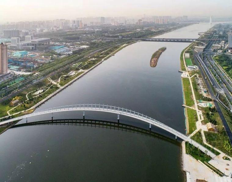 """太原""""汾河之冠""""人行景观桥,尽展结构技艺之美!_11"""