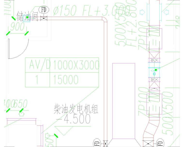 [安徽省]滁州移动分公司地下车库施工图