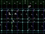 秦皇岛市五层钢筋混凝土框架结构施工图与建筑图