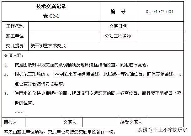 建筑工程施工技术交底编制专项讲座_4