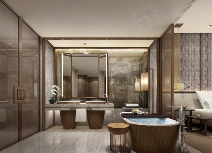CCD--广州某柏悦酒店客房室内概念设计方案文本