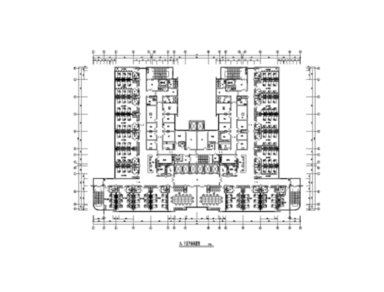 四川某大型医院慢病楼室内装修施工图纸(20张)