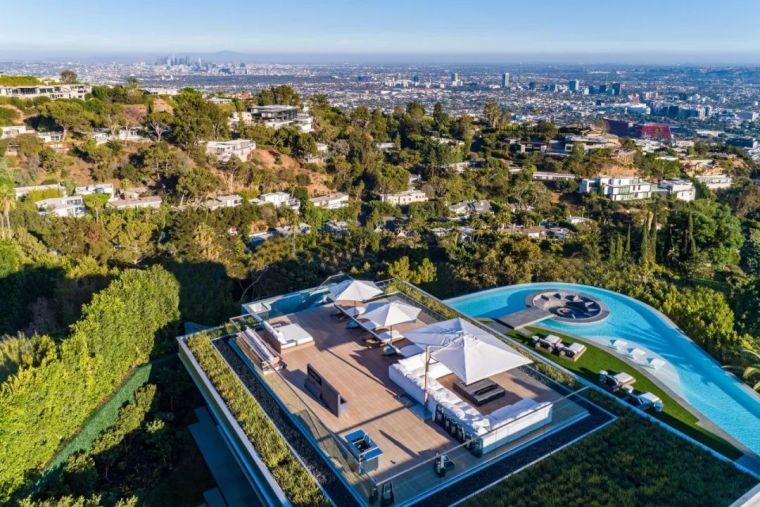 3.98亿的超级山顶豪宅,无比奢侈的观景台_4
