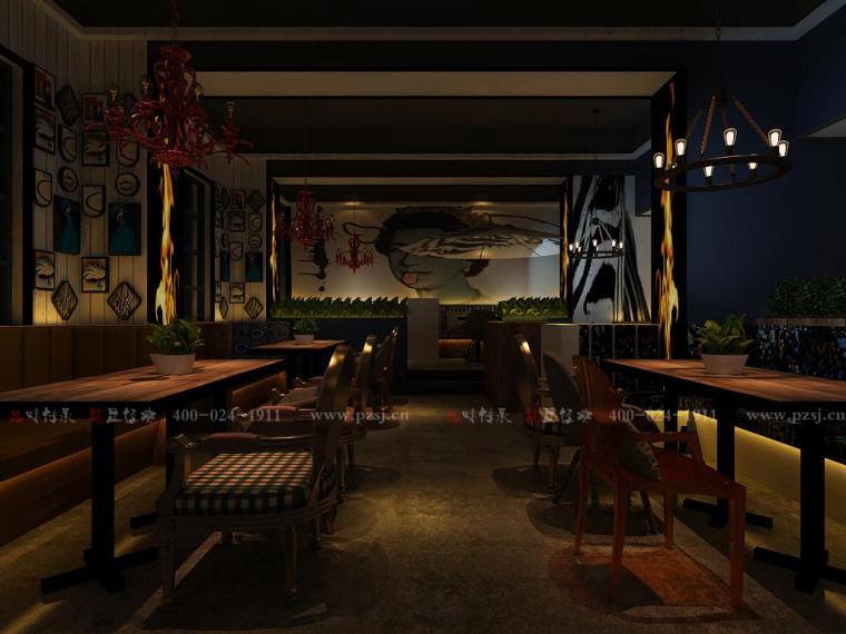 [休闲吧设计]沈阳市中山路热情的斑马艺术休闲吧项目设计-9.jpg