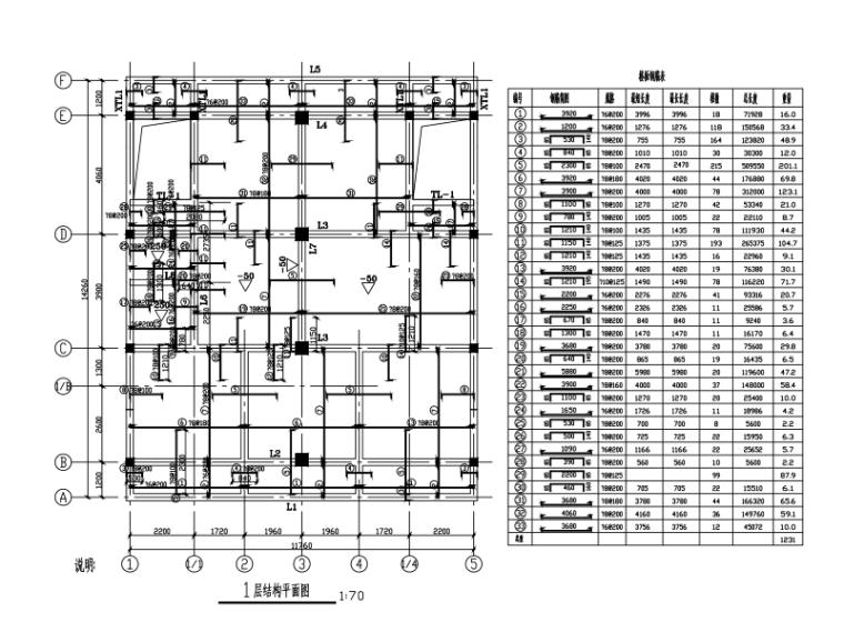 3层砖混结构住宅楼建筑结构施工图