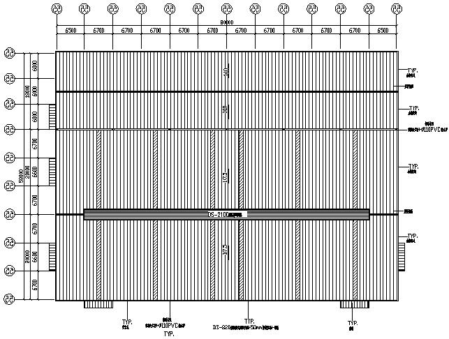 家具制造厂房轻型门式钢屋架结构施工图(CAD,17张)