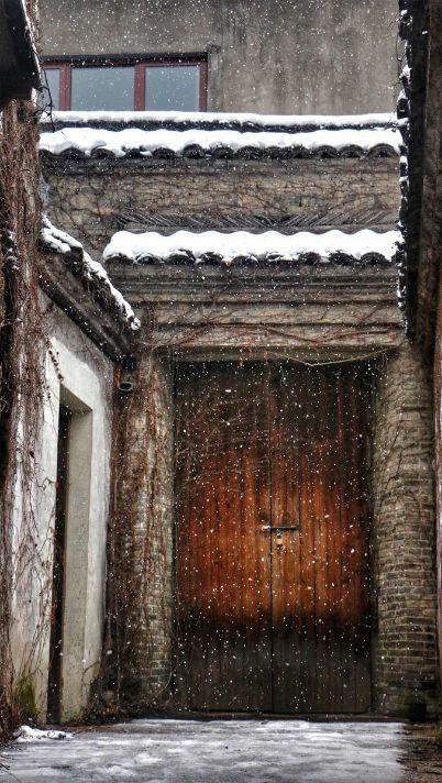 当最美的古镇下了雪,简直惊艳了整个冬天_9