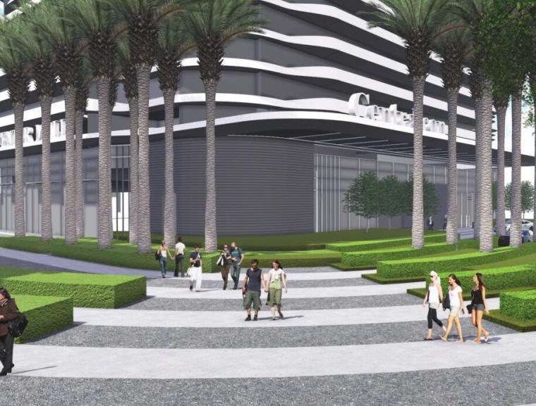 中央公园C地块公寓入口景观方案设计文本