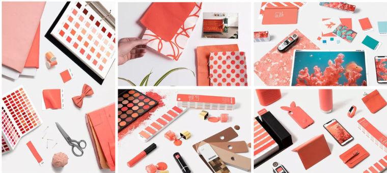 2019年潘东流行色珊瑚橙知软装搭配设计