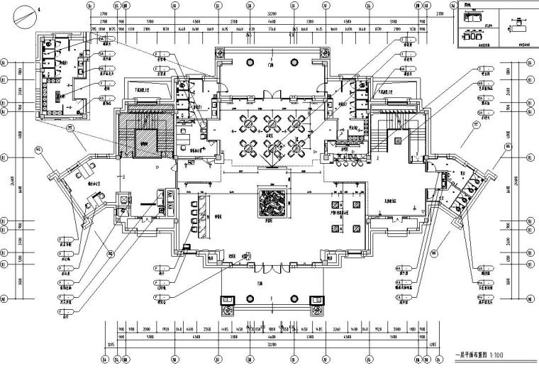 [广东]御景国际销售中心室内施工图设计(帝凯设计)