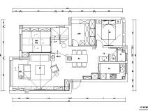 蓝色D小调|江南名楼住宅设计施工图(附效果图)