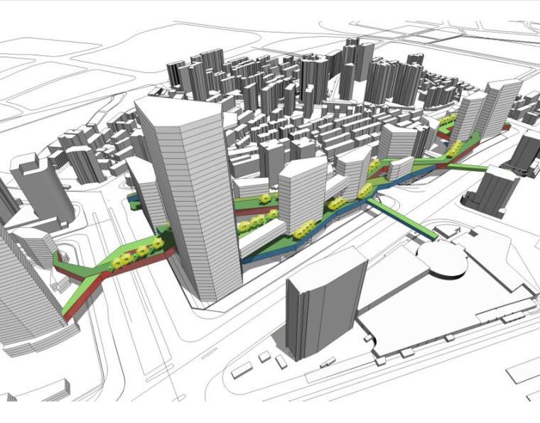[上海]某火车站北广场项目概念规划设计文本(PDF+166页)