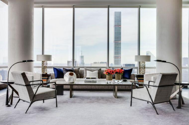 豪宅大师的家装作品,有温度的高级灰诠释奢华