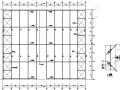 汽车店的轻型钢屋架钢结构设计(CAD,16张)