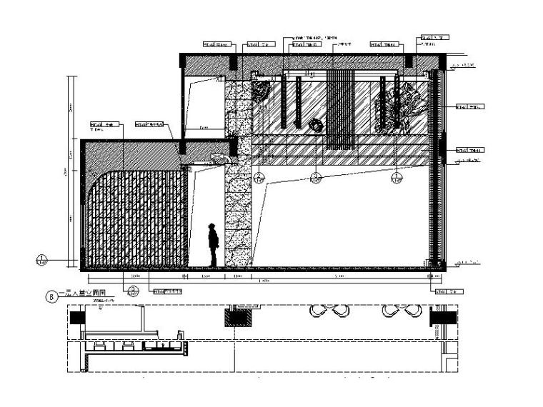 [厦门]时尚奢华高端大气售楼处室内设计施工图(含效果图)_3