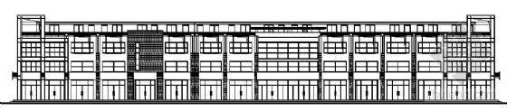 山东香港五金家居城B13-3块改造工程建筑施工图