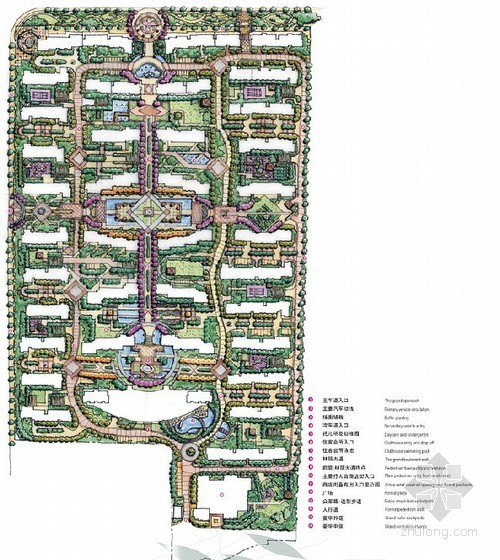 [长沙]生态居住区景观概念设计方案