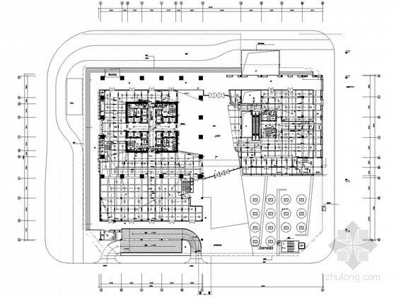 [广东]超高层商务楼强弱电电施图83张