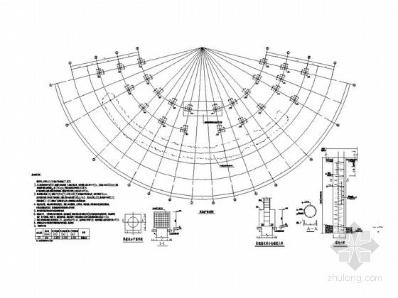 [海南]地上单层框架结构会所结构施工图