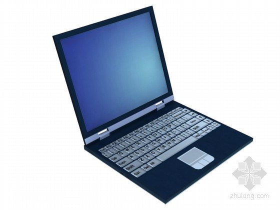 家庭笔记本电脑3D模型下载
