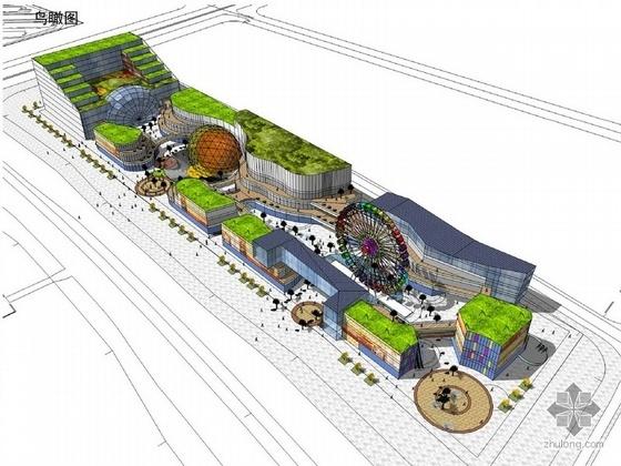 临港新城某地块商业项目规划及单体设计方案文本