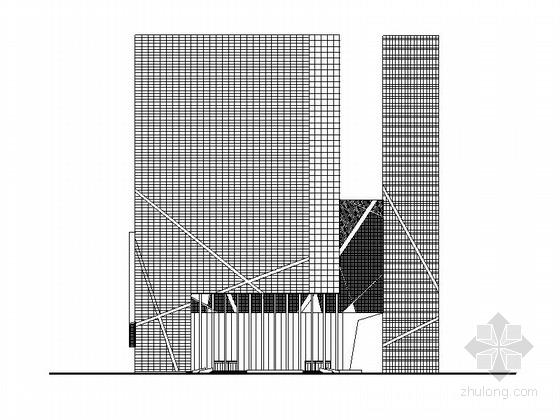 [深圳]现代风格25层知名传媒中心建筑设计方案(含效果图 知名设计院)