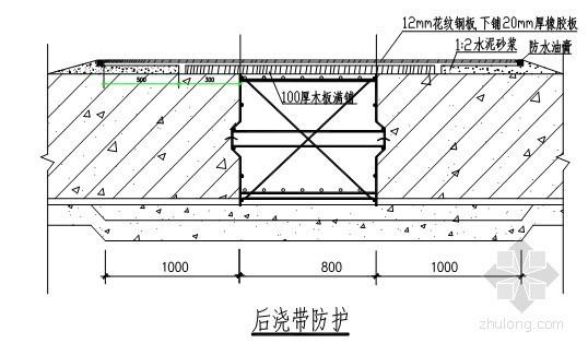 成都某高层住宅基础大体积混凝土施工方案(创杯)