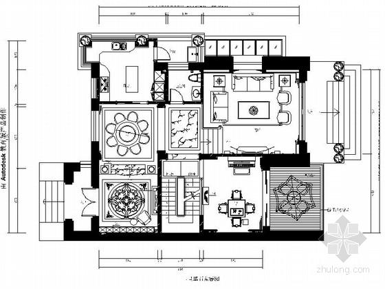 [福州]精品中欧混搭三层别墅装修图(含效果方案)