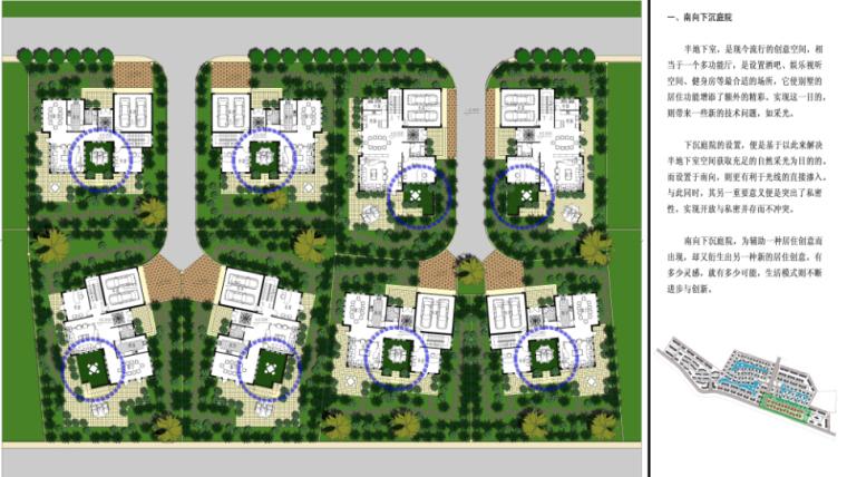 简欧式风格大型别墅区分析图