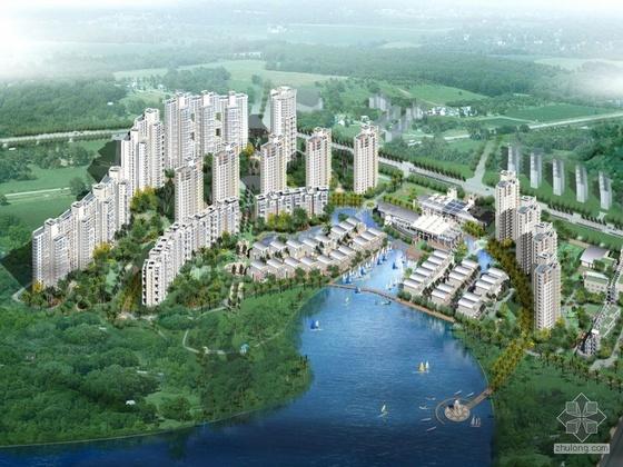 [深圳]香蜜湖某花园住宅小区建筑CAD方案及JPG方案文本