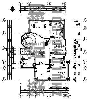 某别墅中央空调施工图