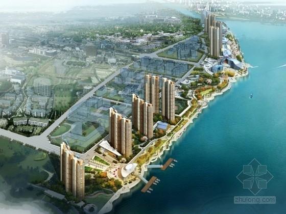 [安徽]某超高层住宅区方案设计文本(含实景)