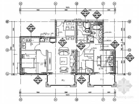 [北京]方庄经典小区简欧风三室两厅室内装修图(含效果)