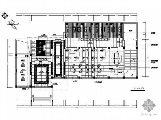 [常州]装饰公司办公空间装修图