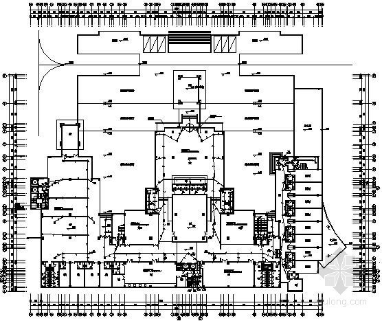 [四川]某四星级酒店全套电气施工图68张